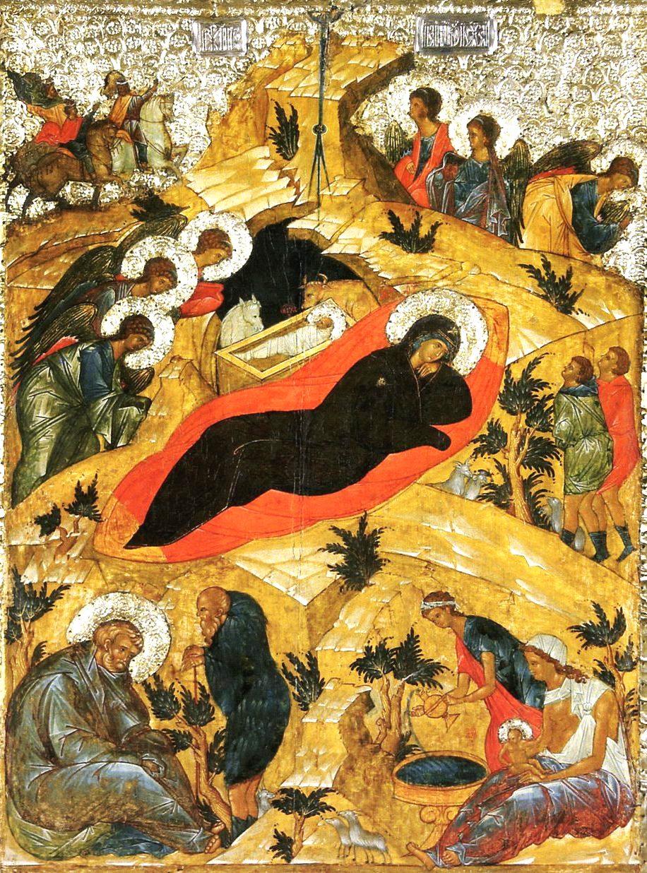 Icona del Natale